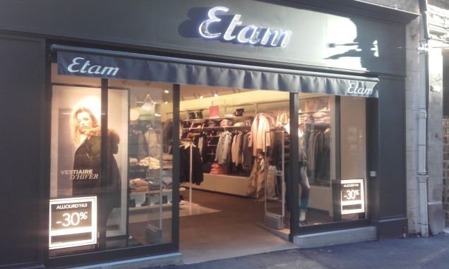 Boutique ETAM Prêt-à-Porter 21 Grand rue Jean Moulin Montpellier