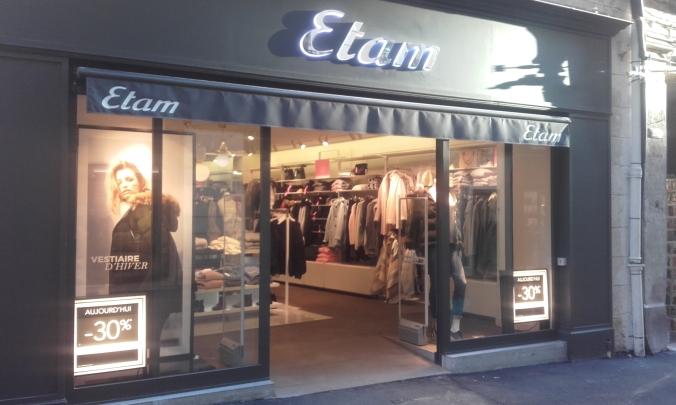 Boutique ETAM Prêt-à-Porter 21 Grand rue Jean Moulin Montpellier