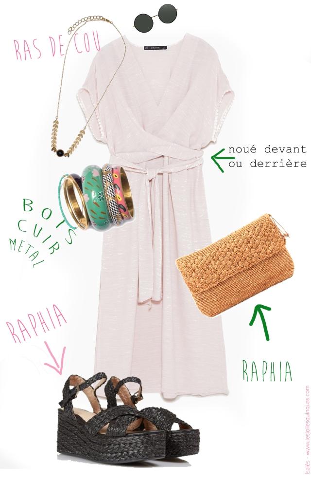 Isalès - Look d'été en robe bohème