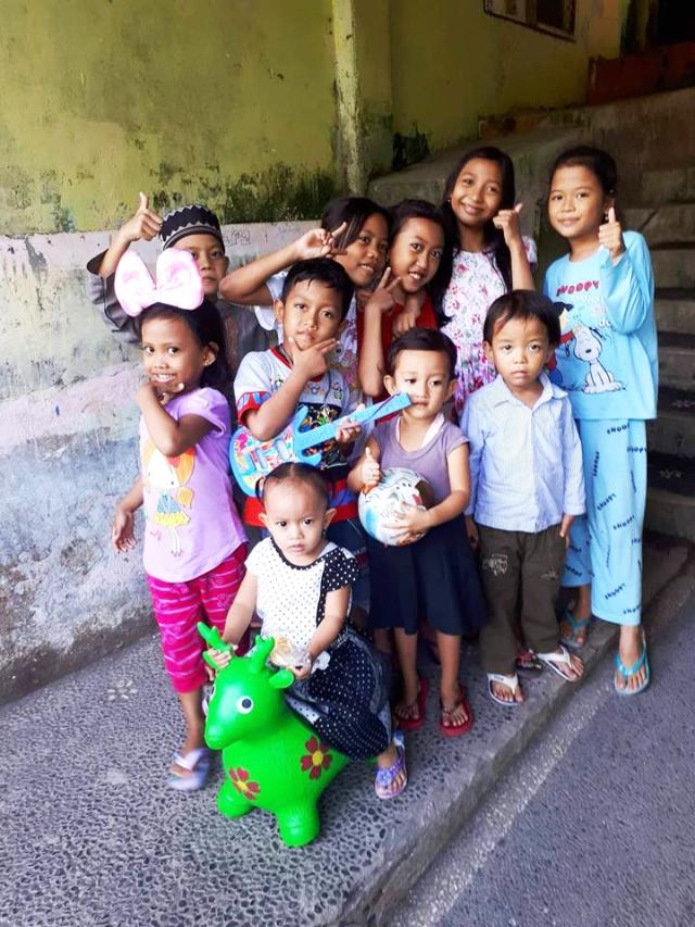 Enfant Orphelinat Yappenatim Bali