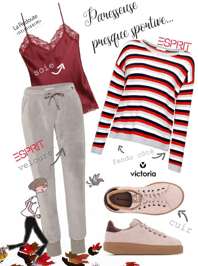 Look quinqua homewear casual
