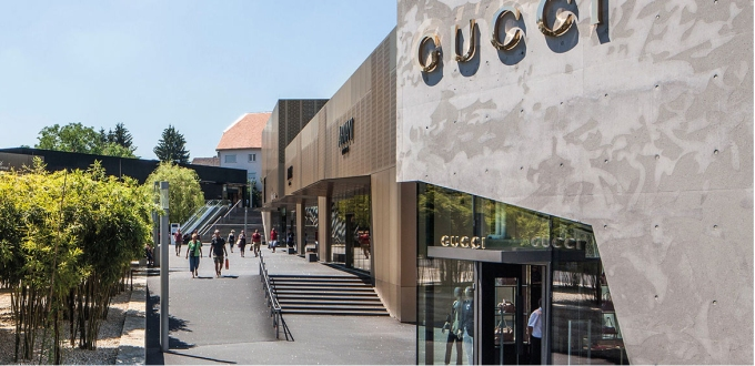 Outlet city Metzingen Allemagne