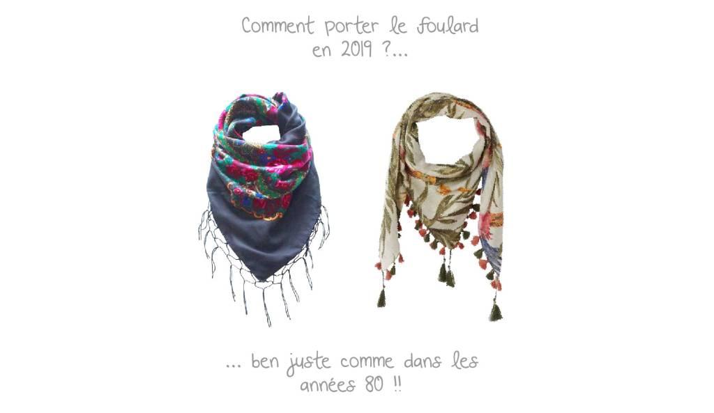 Mode après 50 ans : les 2 façons de porter le foulard en 2019