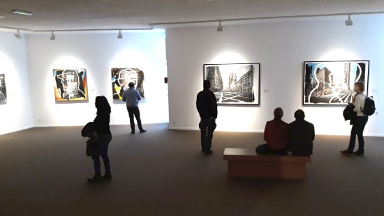 La salle d'exposition