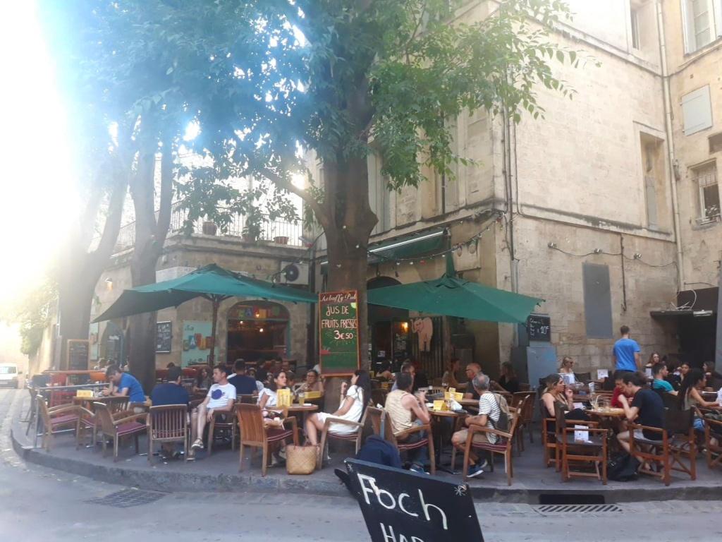 Terrasse du Rebuffy Pub, Montpellier