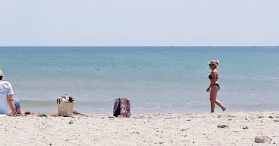 Mode, lifestyle quinqua Une Montpellieraine-a-la-plage