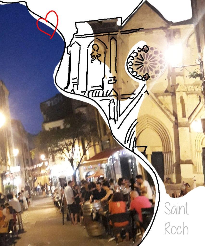 Quartier Saint Roch Montpellier - Les Jolies Quinquas