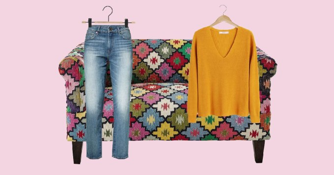 Mode quinqua - s'amuser avec un pull et un jean