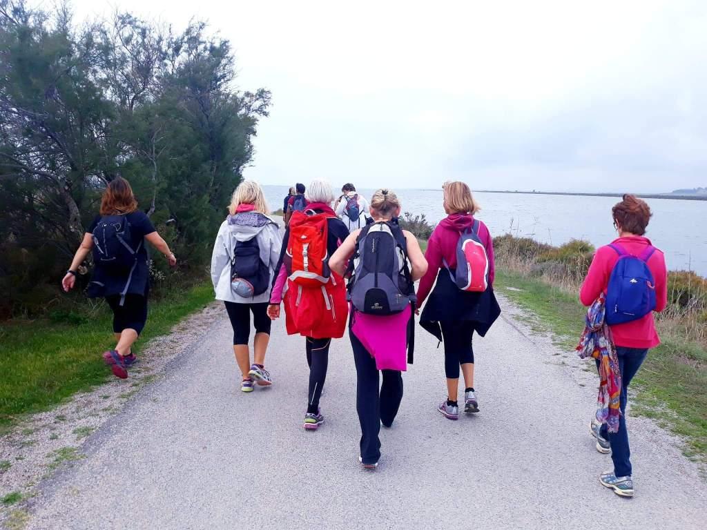 Presqu'île de maguelone Les Jolies Quinquas 2