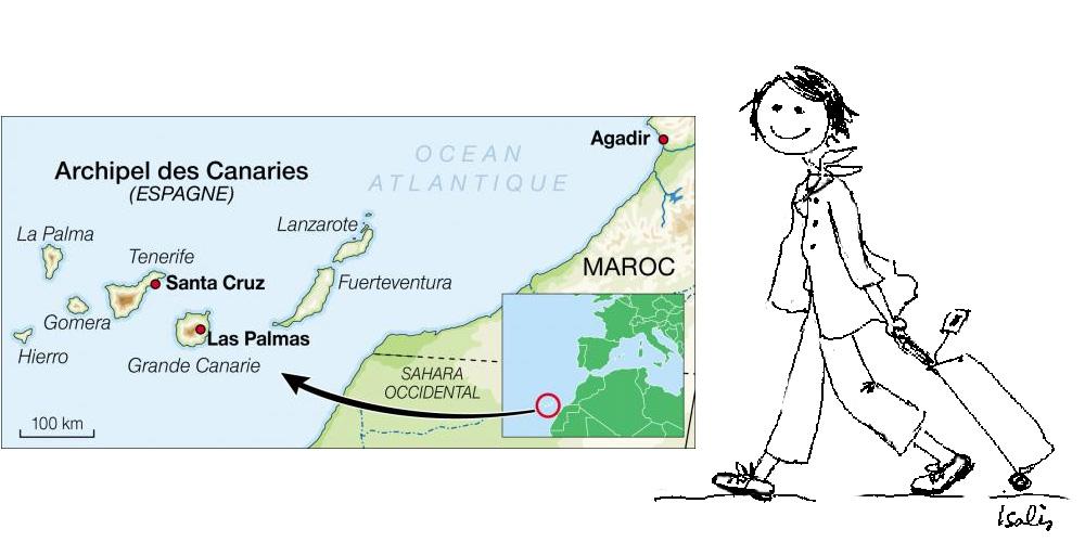 Direction-Les-îles-Canaries