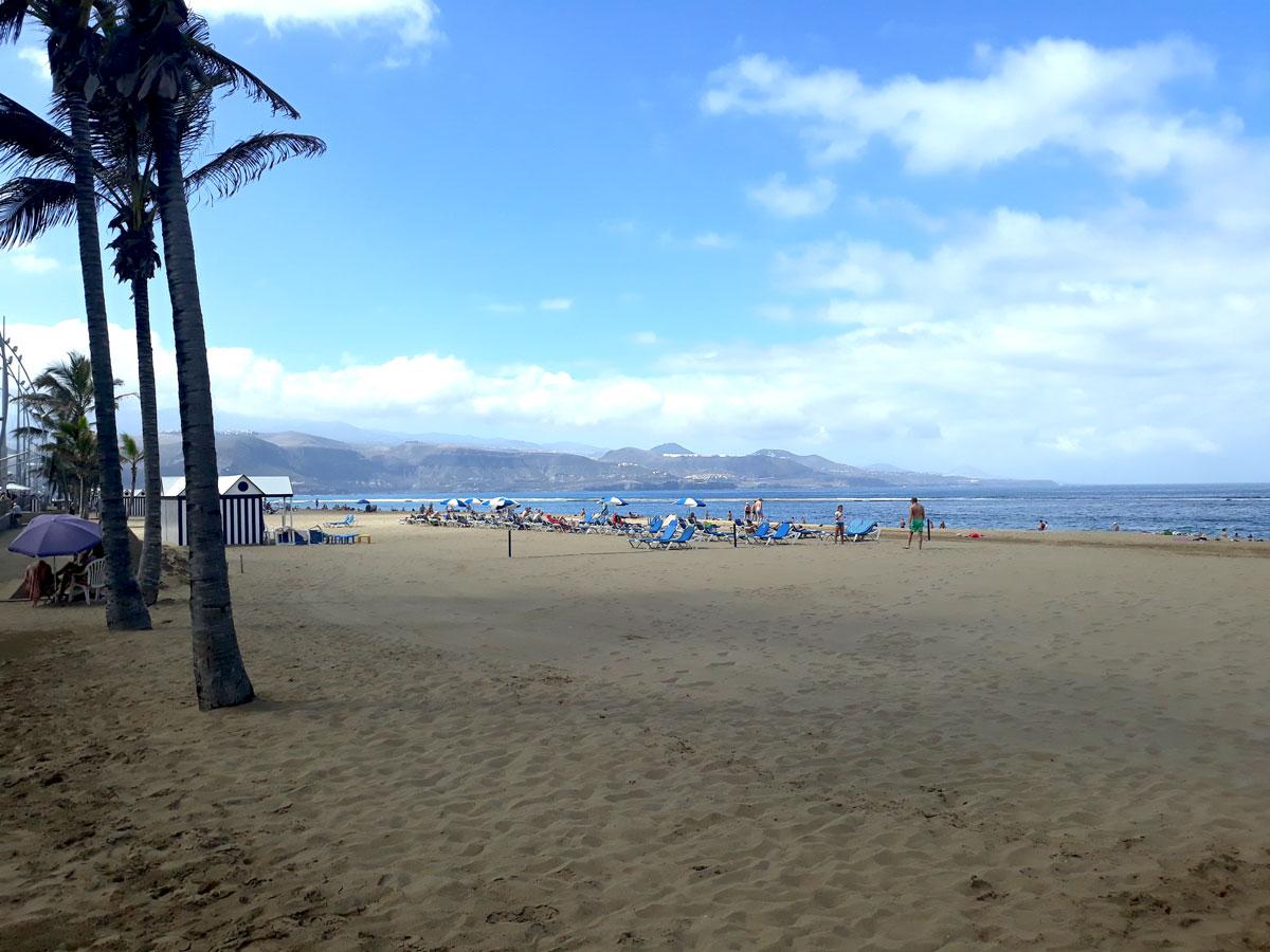 Las Palmas - Playa de Las Canteras - Novembre