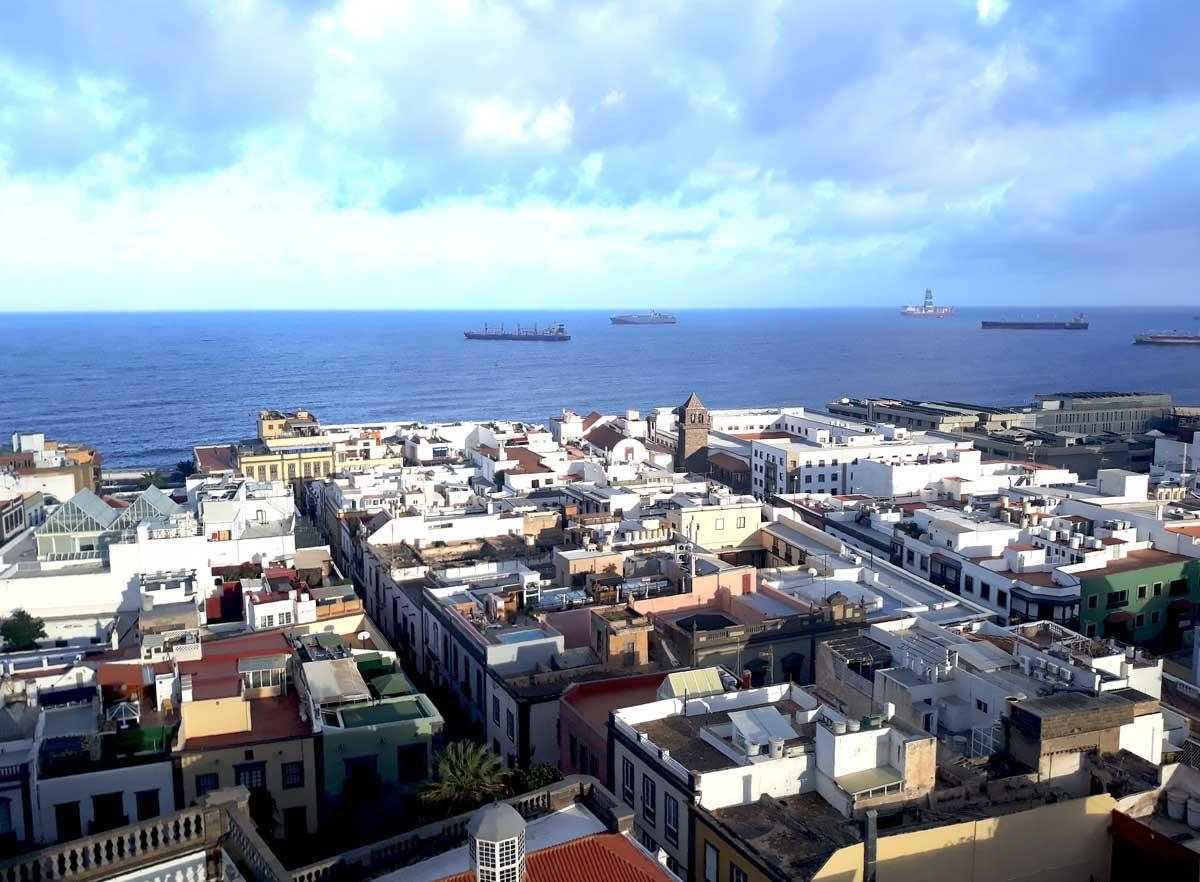 Las-Palmas---ville-portuaire