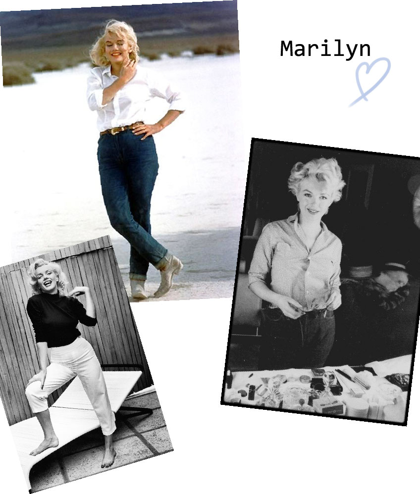 Inspiration-looks-Marilyn
