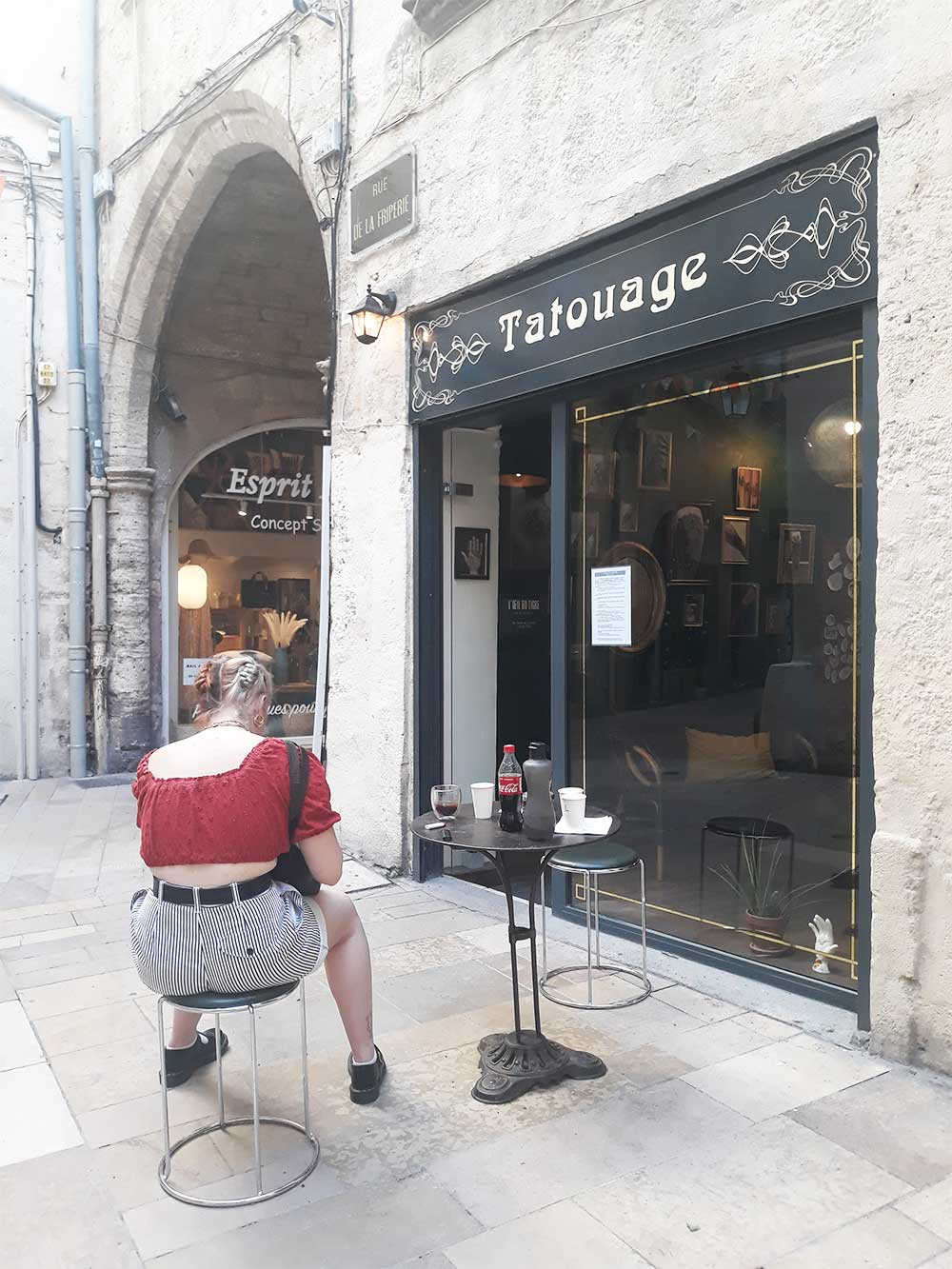rue de la Friperie Tatouage Montpellier