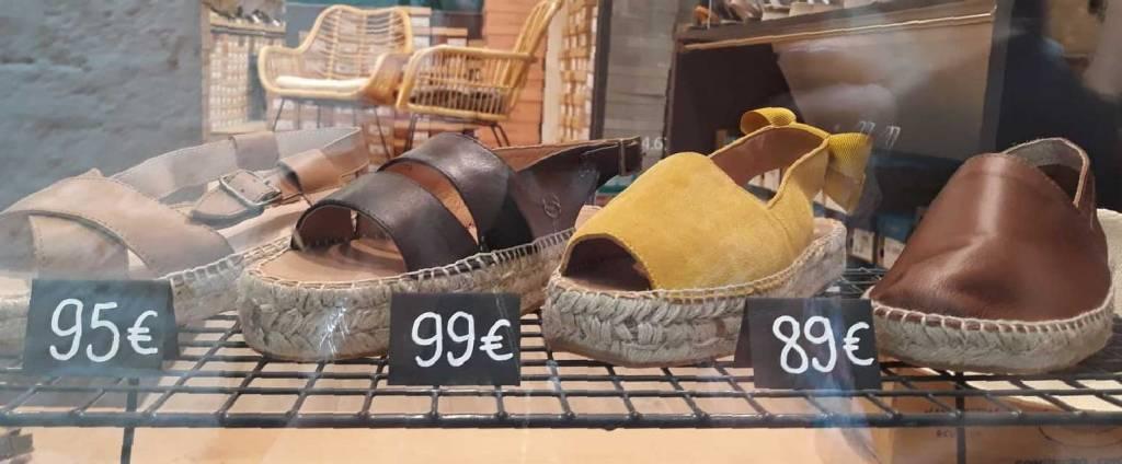 Boutique Espadrilles et panamas à Montpellier