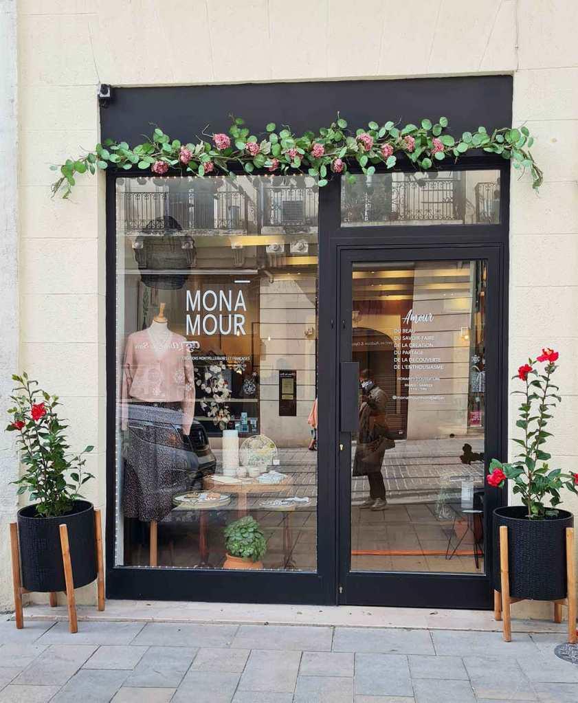 MONA-MOUR jolie boutique créatrices Montpellier
