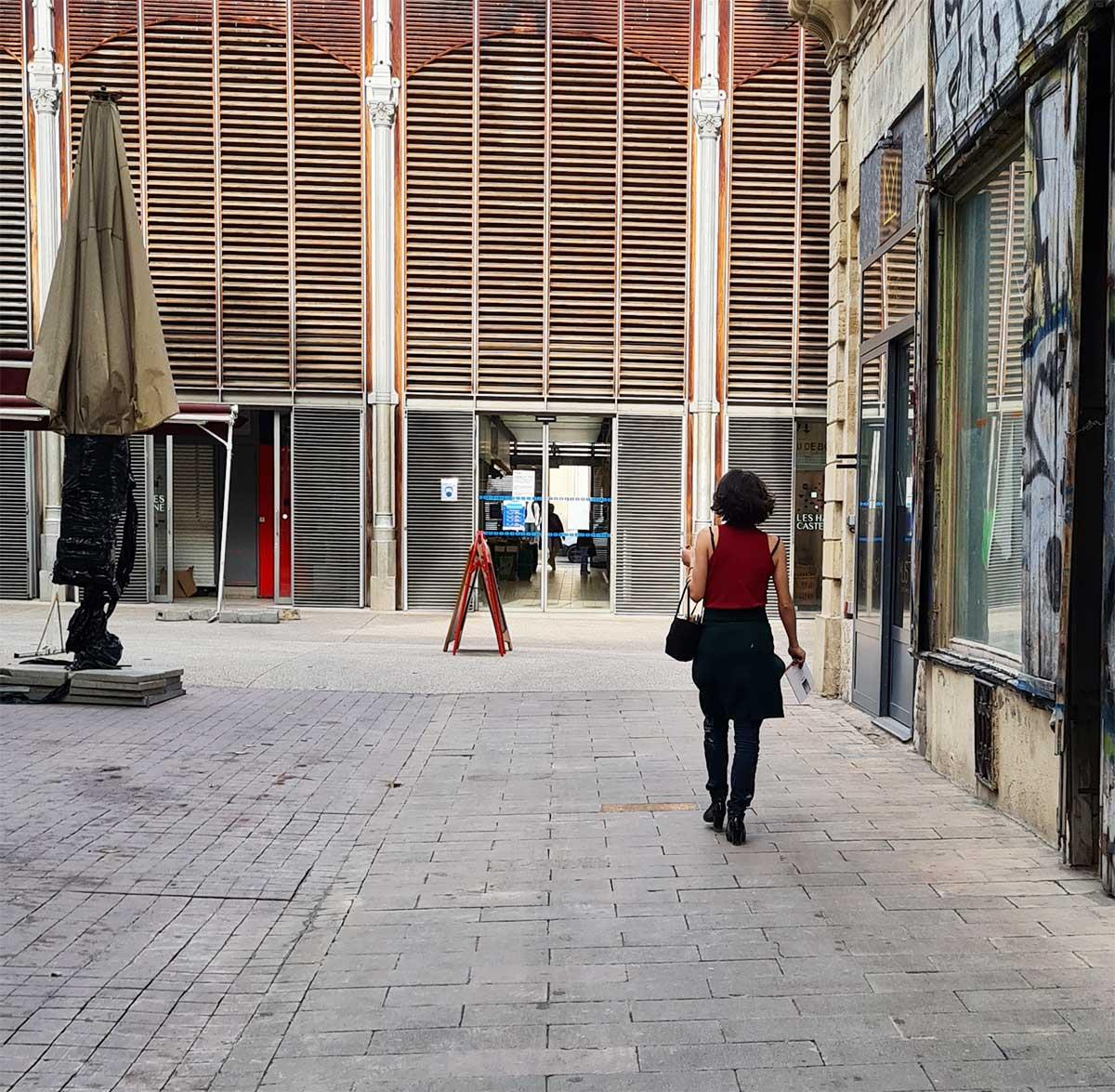 Passante-épaules dénudées Montpellier-2021